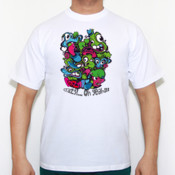 Crazy? - Camiseta calidad 180 gr/m2 Russell 180