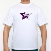 Bad Star - Camiseta calidad 180 gr/m2 Russell 180