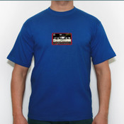 casette old school - Camiseta calidad 180 gr/m2 Russell 180