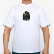 Pacman Camufle - Camiseta calidad 180 gr/m2 Russell 180